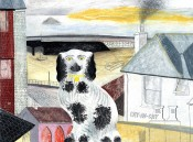 Black & White Dog, St Ives