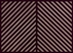 Untitled (Black and Gray Diagonal Lines in Two Directions with a Black Border)