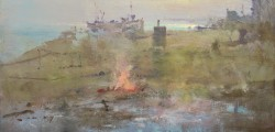 Bonfire, Hythe Beach