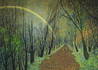 Walking Beside a Rainbow (Jane and Amelia)