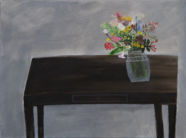 flowers on the georgian table
