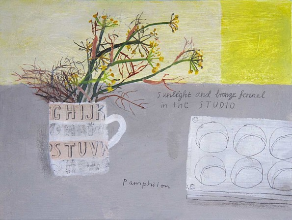ravilious and fennel in the studio
